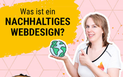 Was ist nachhaltiges Webdesign und was bringt dir eine grüne Website?