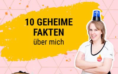 10 geheime Fakten über mich