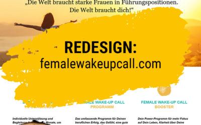 Redesign: femalewakeupcall.com